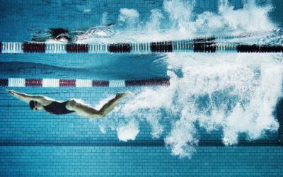 La natación no les dará de comer, pero se bañarán en valores